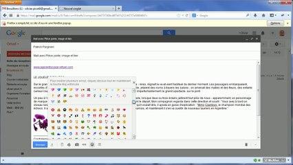 Gmail : Rédiger un message (suite et fin)