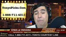 Indiana Hoosiers vs. Iowa Hawkeyes Pick Prediction NCAA College Basketball Odds Preview 2-27-2014