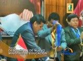 El Decano Regional del Colegio de Profesores, Gaspar Tejada cuestiona la designación del nuevo ministro de Educación, Jaime Saavedra.