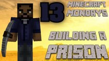 BUILDING THE WALKING DEAD PRISON [MONDAY MINECRAFT MARATHON: PART 13]