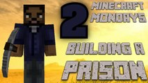 BUILDING THE WALKING DEAD PRISON [MONDAY MINECRAFT MARATHON: PART 2]