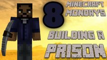 BUILDING THE WALKING DEAD PRISON [MONDAY MINECRAFT MARATHON: PART 8]