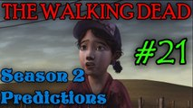 THE WALKING DEAD: SEASON 2 Predictions [Is Clementine Alone?]