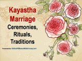 Kayastha Marriage Rituals and Wedding Ceremonies