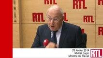 VIDÉO - Michel Sapin et l'inversion de la courbe du chômage