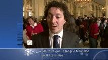Reportage dans le cadre de la Semaine de la langue française et de la Francophonie et de son lance