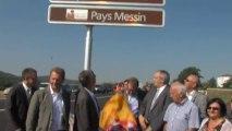 Inauguration de la Route des Vins de Moselle en Pays Messin