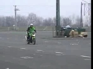 Kawasaki z1000 stunt