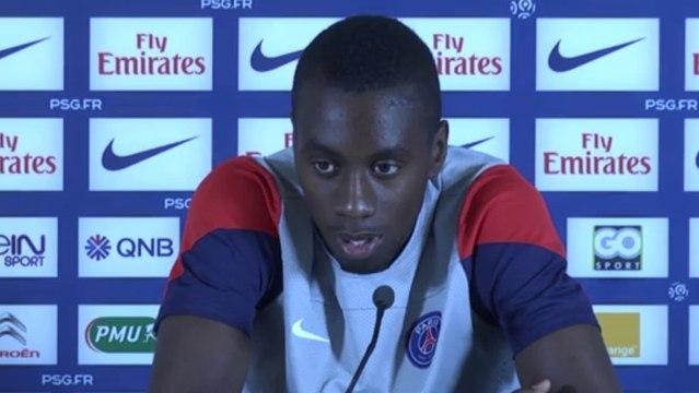 Blaise Matuidi félicite Franck Ribéry