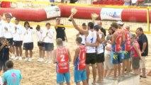 Beach-Volley - Championnats de France 2013. Podium Hommes.
