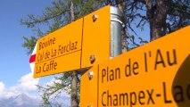 2013 UltratrailTV - Passage de coureurs CCC à Bovine