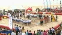 Beach-Volley - Championnats de France 2013. Podium Dames.