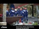 Effondrement aux Puces de Saint-Ouen