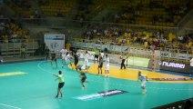 Eurotournoi 2013 / Veszprém - Chambéry / Arrêt Dumoulin / Handball