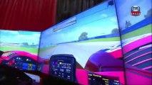Speed Channel Covers CXC Simulators at Barrett Jackson