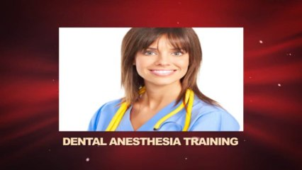 Dental Anesthesia Resource | Learn About, Share and Discuss Dental