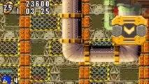 Sonic Advance - Sonic : Secret Base Zone Act 1