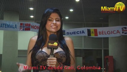 Miami TV Colombia Release with Live Show from Cali World Games