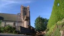 Dieppe : orages et tornade à Dieppe
