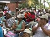 Fundación san isidro socializa proyecto productivo piscícola en las parcelas san diego, los caracoles y aguas vivas