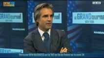 Le succès d'un salon de coiffure dans les coulisses de l'US Open : Julien Farel, dans Le Grand Journal de NY - 31/08 3/4