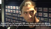 PSG : Zlatan Ibrahimovic évoque son association avec Edinson Cavani