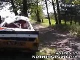 La Femme De Régis Pendant Un Rallye
