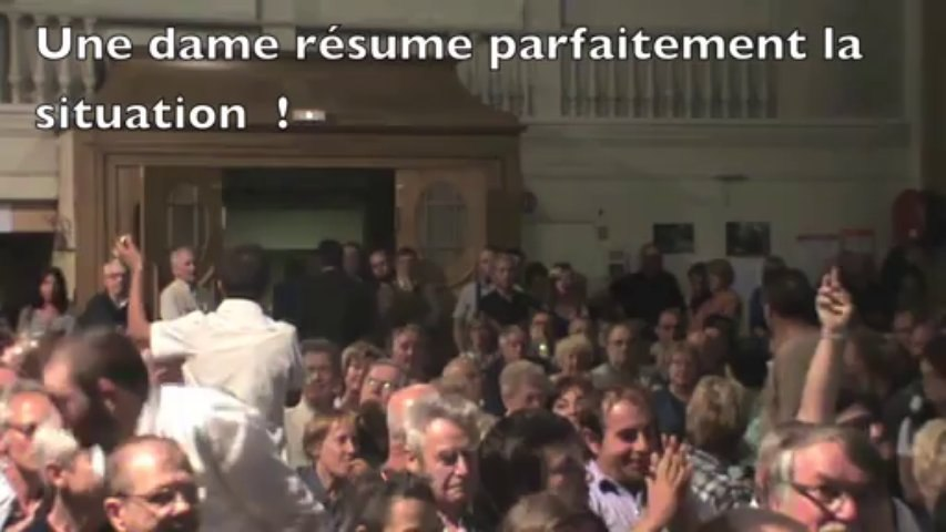 La concertation à Mulhouse selon Jean Rottner c'est ca … et ça se voit ! AG de l'ASCEN août 2013 (version courte)