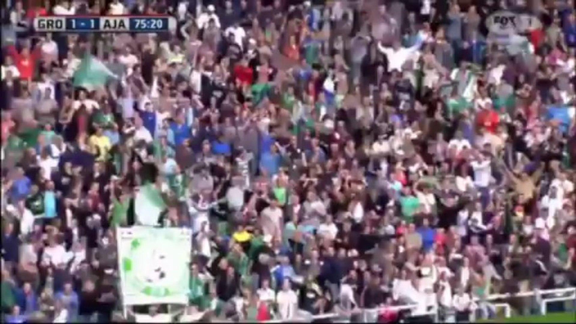 Groningen 1 - 1 Ajax (All Goals And Highlights) 01-09-13 Eredivisie/FoxSports