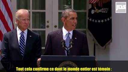 """Déclaration d'Obama sur la Syrie : """"Nous sommes prêts à frapper. Je suis prêt à en donner l'ordre"""""""