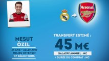 Officiel : Özil quitte le Real Madrid et signe à Arsenal