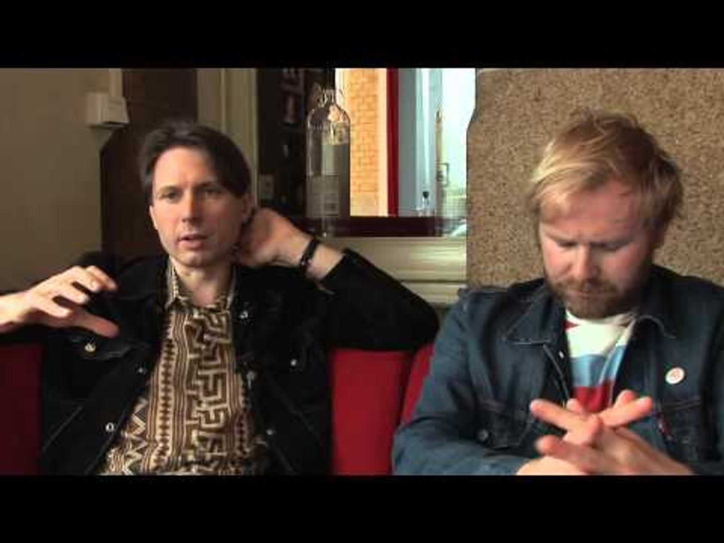 Franz Ferdinand interview - Alex and Robert (part 2)