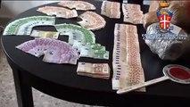 Villa di Briano - Arrestato albanese con 17 chili di marijuana (31.08.13)