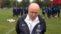 L'équipe de France espoirs s'entraîne à Touques - L'équipe de France espoirs s'entraîne à Touques