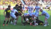 US Carcassonne / LOU Rugby - Les essais lyonnais.