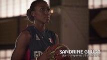 Clip promotion Basket féminin avec Sandrine Gruda