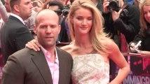 Rosie Huntington-Whiteley and Jason Statham Take 'a Break'