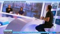Nikos Aliagas donne son avis sur la presse people sur NRJ 12 dans Morandini : Télé, People, Buzz
