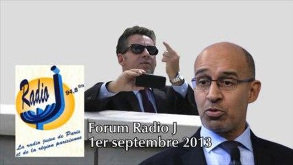 Frédéric Haziza, Harlem Désir, Forum Radio J 01-09-2013