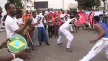 RDC: la capoeira, un sport brésilien dans les rues de Kinshasa