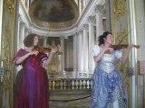 La Sérénade royale au château de Versailles - the royal serenade at Versailles palace