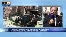 """Le maire d'Oradour-sur-Glane: """"Une page d'histoire nationale s'écrit aujourd'hui"""" - 04/09"""