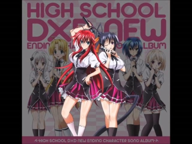 High School DxD New Rias Gremory and Akeno Himejima (W))hole NEW ((W))orld! Song