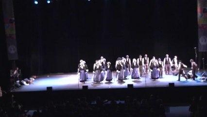 Chorégraphie 2011 :« PASSION AN DAÑS » La danse maintient l'homme debout.