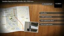 Location Appartement, Grisolles (82), 478€/mois