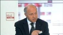 """Syrie : la Russie est en pleine """"contradiction"""" selon Laurent Fabius"""