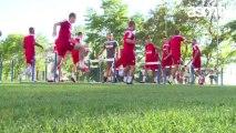 Jeux et séance physique pour la reprise