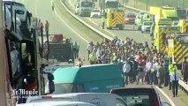 Angleterre : plus de 100 véhicules impliqués dans un carambolage