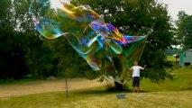 Comment faire des bulles de savon géantes ?