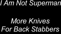 More Knives For Back Stabbers